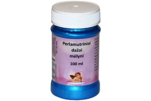 Pearlescent paint 100 ml. (blue)