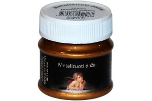 Metallic Paint 50 ml. (dark gold)