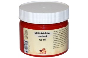 acrylics Paint 300 ml. (red)