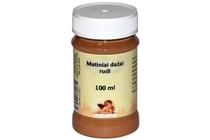Paint 100 ml. (brown)