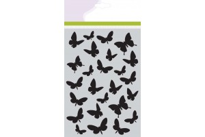 Trafaretas drugeliai A5