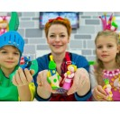 """Polimer clay """"fimo kids"""" turquoise"""
