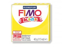 "Polimer clay ""fimo kids"" yellow"
