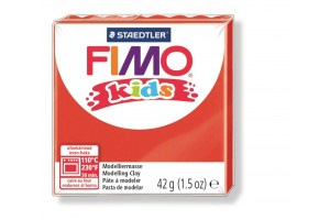"Polimer clay ""fimo kids"" red"