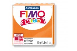 "Polimer clay ""fimo kids"" orange"