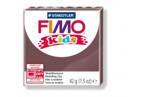 "Polimer clay ""fimo kids"" brown"