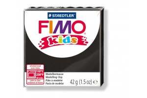 "Polimer clay ""fimo kids"" black"