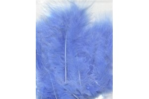 Feather, light blue