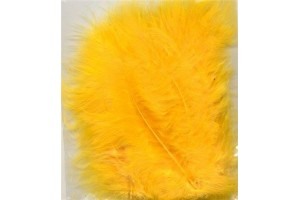 Feather, yellow