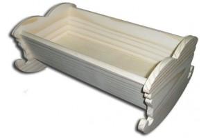 Dekoratyvinė lovytė 22x14x10 cm. DWZ0630A