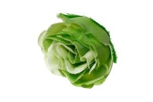 Dirbtinė gėlė žalia 5x4 cm