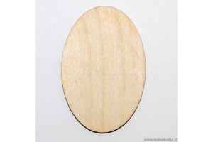 Base for brooch oval 6x4 cm. P2-1
