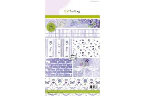 """Popierių rinkinys """"romantika"""" 32 lapai A5"""