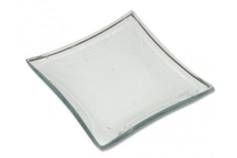 Stiklinė lėkštė 10x10 cm., KG43