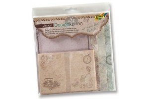 Designer cards with envelopes vintage 8 pcs.