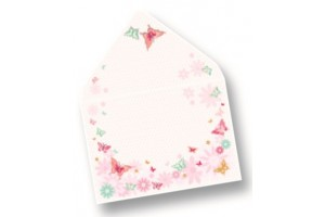 Designer cards with envelopes 8 pcs.