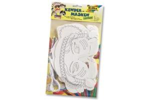 Kaukės vaikams 6 vnt. skirtingų kaukių dizainų 6 vnt.