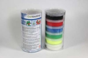 Silk foam clay air dry 6x15 gr.