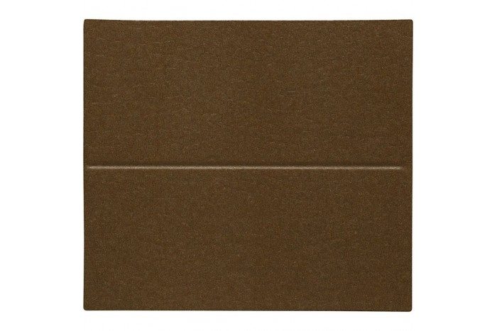 Place Card Size 3x4 Cm Sand Brown Color