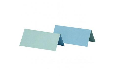 Stalo kortelės dvipusės žydros spalvos 25 vnt.