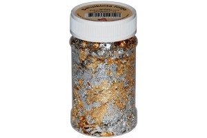 Crushed foil (gold-silver) 100 ml.