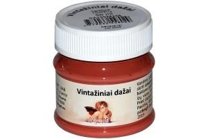 Kreidiniai akriliniai vintažiniai dažai 50 ml. (rūdžių)