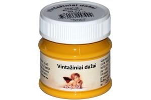 Acrylic vintage paint 50 ml. (mustard)