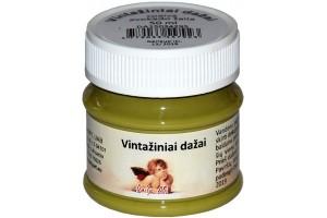 Kreidiniai akriliniai vintažiniai dažai 50 ml. (avokado žalia)