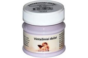 Kreidiniai akriliniai vintažiniai dažai 50 ml. (pastelinė violetinė)