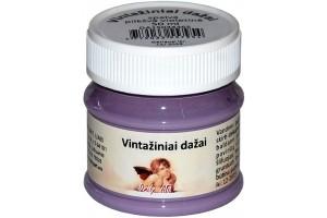 Kreidiniai akriliniai vintažiniai dažai 50 ml.  (pilkšva violetinė)