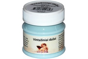 Acrylic vintage paint 50 ml. (pastel blue)