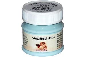 Kreidiniai akriliniai vintažiniai dažai 50 ml. (pastelinė mėlyna)