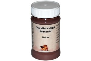 Acrylic vintage paint 100 ml. (deep brown)