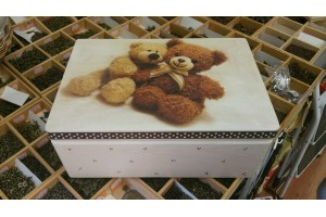 Decoupage box memory box