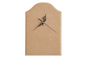 Clock MDF with pointers and mechanism 1248