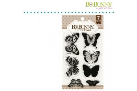 Silikoninis antspaudukas drugeliai 10x15,3 cm.
