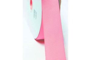 "Vintage light pink ribbon ""grosgrain"", 6 mm., 1 metre, 00821"