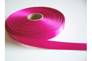 Satin ribbon 3 mm.  hot pink