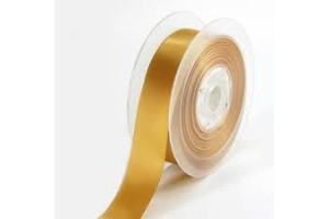 Satininė juostelė 16 mm. senas auksas