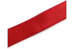Satininė juostelė 16 mm. raudona