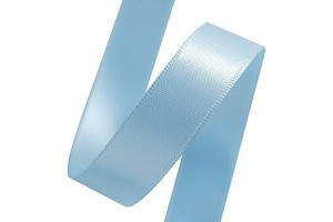 Sattin ribbon 16 mm. light blue