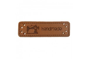 Label leather 50x15 mm.
