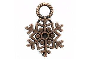 Pendant snowflake 21x15 mm.