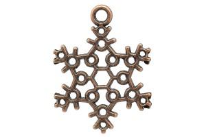 Pendant snowflake 22x17 mm.