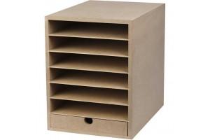 Paper storage A4 25x33 cm.
