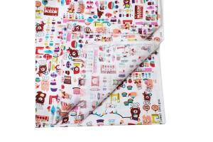 Tekstilė medvilnė 200x148 cm.