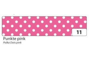 Decorative washi tape pink dots