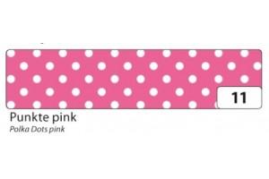 Decorative washi tape pink dots