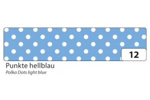 Decorative washi tape light blue dots