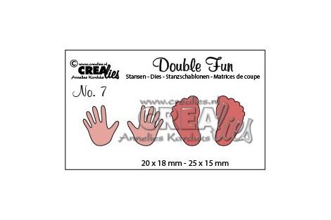 Kirtimo formelė pedutės ir rankytės